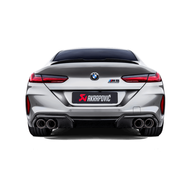 Slip-On Titan BMW M8/Competition - Gran Coupe (F93)